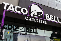 Las Vegas - Circa December 2016: Taco Bell Flagship Cantina Location III Royalty Free Stock Photography