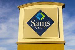 Las Vegas - Circa December 2016: Van het de Clubpakhuis van SAM ` s Embleem en Signage II Stock Fotografie