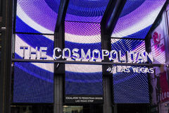 Las Vegas - circa diciembre de 2016: El cosmopolita de Las Vegas El cosmopolita es un casino y un hotel del centro turístico en l fotografía de archivo