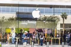 Las Vegas - circa im Juli 2017: Apple Store-Einzelhandels-Mall-Standort Apple-Verkäufe und Services iPhones, iPads, iMacs II Stockbilder