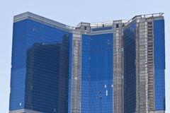 Las Vegas - circa im Juli 2016: Der unfertige Fontainebleau-Erholungsort Las Vegas auf dem Streifen Stockbild