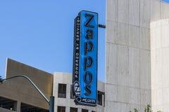 Las Vegas - circa im Juli 2017: Zappos COM ist ein on-line-Schuh- und Kleidungsshop amazonas COM erworbenes Zappos im Jahre 2009  Stockfotos