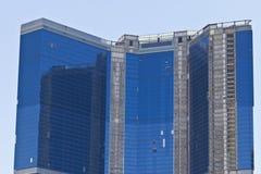 Las Vegas - Circa Juli 2016: Den oavslutade Fontainebleau semesterorten Las Vegas på remsan Fotografering för Bildbyråer