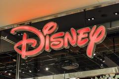 Las Vegas - Circa Juli 2017: Läge för galleria för Disney lagerdetaljhandel Det Disney lagret är den officiella platsen för Disne arkivbild