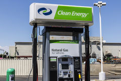 Las Vegas - Circa July 2017: Clean Energy Fuels Natural Gas Station. Clean Energy distributes Compressed natural gas I. Clean Energy Fuels Natural Gas Station Stock Photo