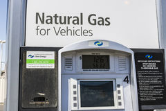 Las Vegas - Circa July 2017: Clean Energy Fuels Natural Gas Station. Clean Energy distributes Compressed natural gas II. Clean Energy Fuels Natural Gas Station Royalty Free Stock Images