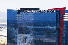 Las Vegas - Circa July 2016: Hilton Grand Vacations Location. Hilton is a global brand of full-service hotels III Royalty Free Stock Photos