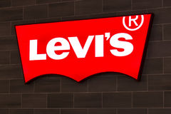 Las Vegas - Circa July 2017: Levi Strauss & Co. Signage and Logo. Levis have been an American jeans staple since 1853 I Royalty Free Stock Photos