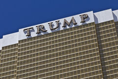 Las Vegas - Circa July 2016: Trump Hotel Las Vegas. Named for real estate developer Donald Trump I Stock Photos