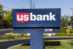 Las Vegas - Circa July 2017: U.S. Bank and Loan Branch. US Bank is ranked the 5th largest bank in the United States III. U.S. Bank and Loan Branch. US Bank is Royalty Free Stock Photography