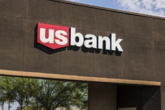 Las Vegas - Circa July 2017: U.S. Bank and Loan Branch. US Bank is ranked the 5th largest bank in the United States V. U.S. Bank and Loan Branch. US Bank is Stock Image