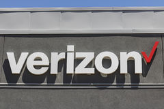 Las Vegas - Circa July 2017: Verizon Wireless Retail Location. Verizon is the largest U.S. wireless communications provider XVIII Royalty Free Stock Image