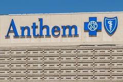 Anthem Blue Cross Nevada Headquarters. Anthem is a Trusted Health Insurance Plan Provider IV. Las Vegas - Circa June 2019: Anthem Blue Cross Nevada Headquarters stock photos