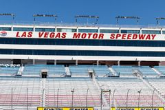 Las Vegas Motor Speedway. LVMS hosts NASCAR and NHRA events including the Pennzoil 400 III. Las Vegas - Circa June 2019: Las Vegas Motor Speedway. LVMS hosts royalty free stock images