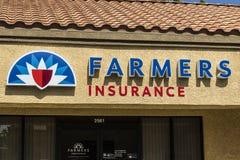 Las Vegas - circa luglio 2017: Agente Location del gruppo di assicurazione degli agricoltori Gli agricoltori fornisce a casa, vit Fotografia Stock Libera da Diritti