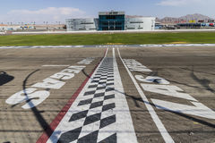 Las Vegas - circa luglio 2017: Inizi l'arrivo a Las Vegas Motor Speedway LVMS ospita gli eventi di NHRA e di NASCAR VII immagine stock libera da diritti