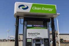 Las Vegas - circa luglio 2017: L'energia pulita rifornisce la stazione di servizio di combustibile naturale L'energia pulita dist Fotografie Stock