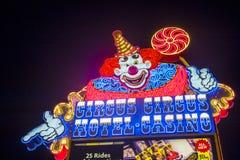 Las Vegas, Circuscircus Stock Foto's