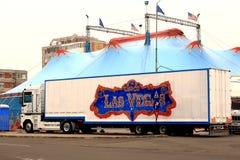 Las Vegas cirkus Arkivbilder