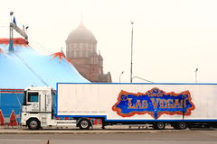 Las Vegas cirkus Royaltyfria Foton