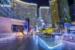 Las vegas city center Royalty Free Stock Photography