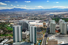 Las Vegas City Skyline Stock Photo