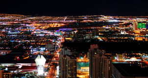 Las Vegas City skyline panorama Stock Photos