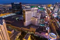 Las Vegas cityscape royaltyfria foton
