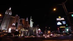 Las Vegas Cityscape, Timelapse, Nevada, USA Stock Photo