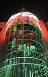 Las Vegas Coca Cola Store by Night Stock Photography