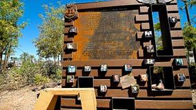 The Las Vegas Community Healing Garden Stock Image