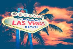 Las Vegas Concept Royalty Free Stock Photography