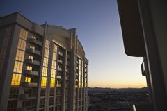 Las Vegas Condo Dawn Royalty Free Stock Image