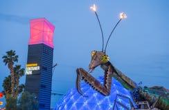 Las Vegas, Containerpark Royalty-vrije Stock Afbeeldingen