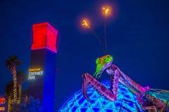 Las Vegas, Containerpark Stock Foto's