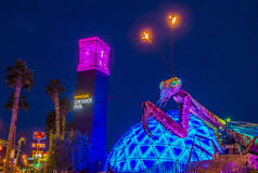 Las Vegas, Containerpark Stock Afbeeldingen