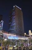 Las Vegas Cosmopolitan Hotel by Night Stock Images