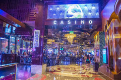 Las Vegas Cosmopolitan. LAS VEGAS - SEP 03 : The Interior of Cosmopolitan hotel and casino on September 03 2015 in Las Vegas. The Cosmopolitan opened in 2010 and stock image