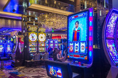 Las Vegas cosmopolite Photos stock