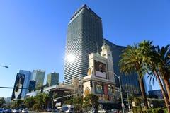 Las Vegas cosmopolite, nanovolt Image stock