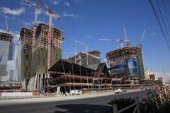 Las Vegas - costruzione Fotografia Stock Libera da Diritti