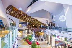 Las Vegas Crystals mall Stock Photo