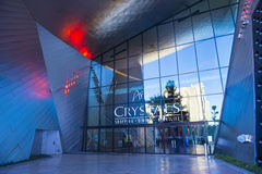 Las Vegas Crystals mall Stock Image