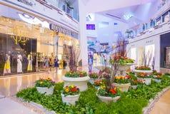 Las Vegas Crystals mall Stock Image