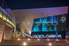 Las Vegas Crystals mall Royalty Free Stock Image