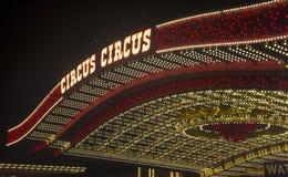 Las Vegas, Cyrkowy cyrk Zdjęcie Stock