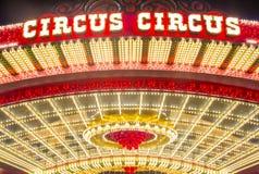 Las Vegas, Cyrkowy cyrk zdjęcie royalty free