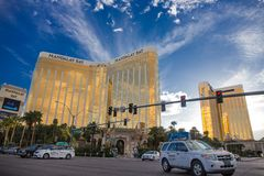 Las Vegas by day. Royalty Free Stock Photo