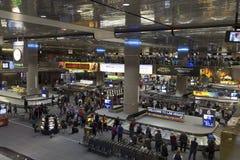 Aeropuerto internacional en Las Vegas, nanovoltio de McCarran en Apri 01, 2013 Imágenes de archivo libres de regalías