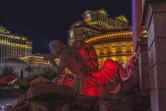 LAS VEGAS - 3 DE AGOSTO: Opinião da tira de Las Vegas o 3 de agosto de 2007 dentro Fotografia de Stock
